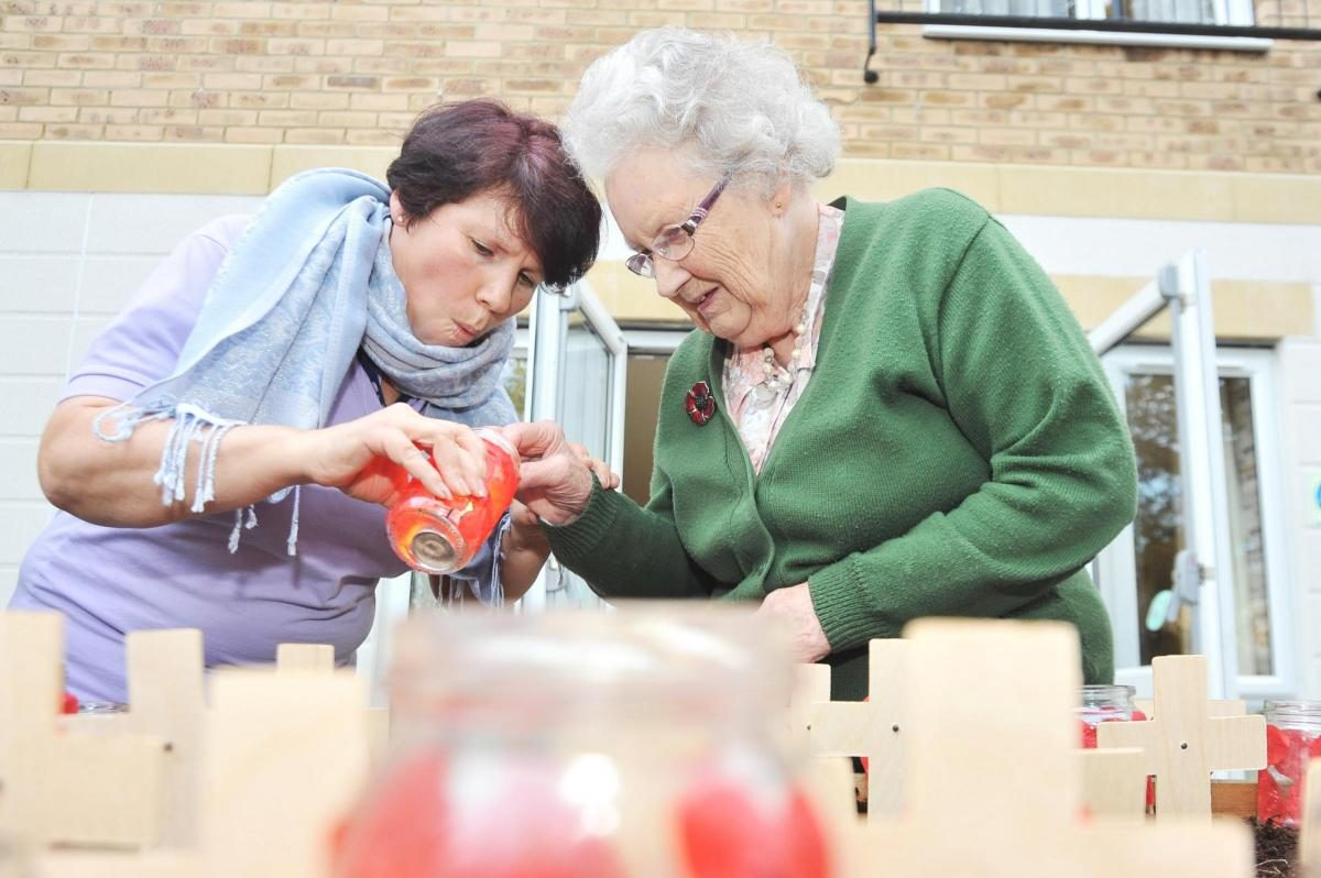 Orchid Care Home in the local Swindon Advertiser