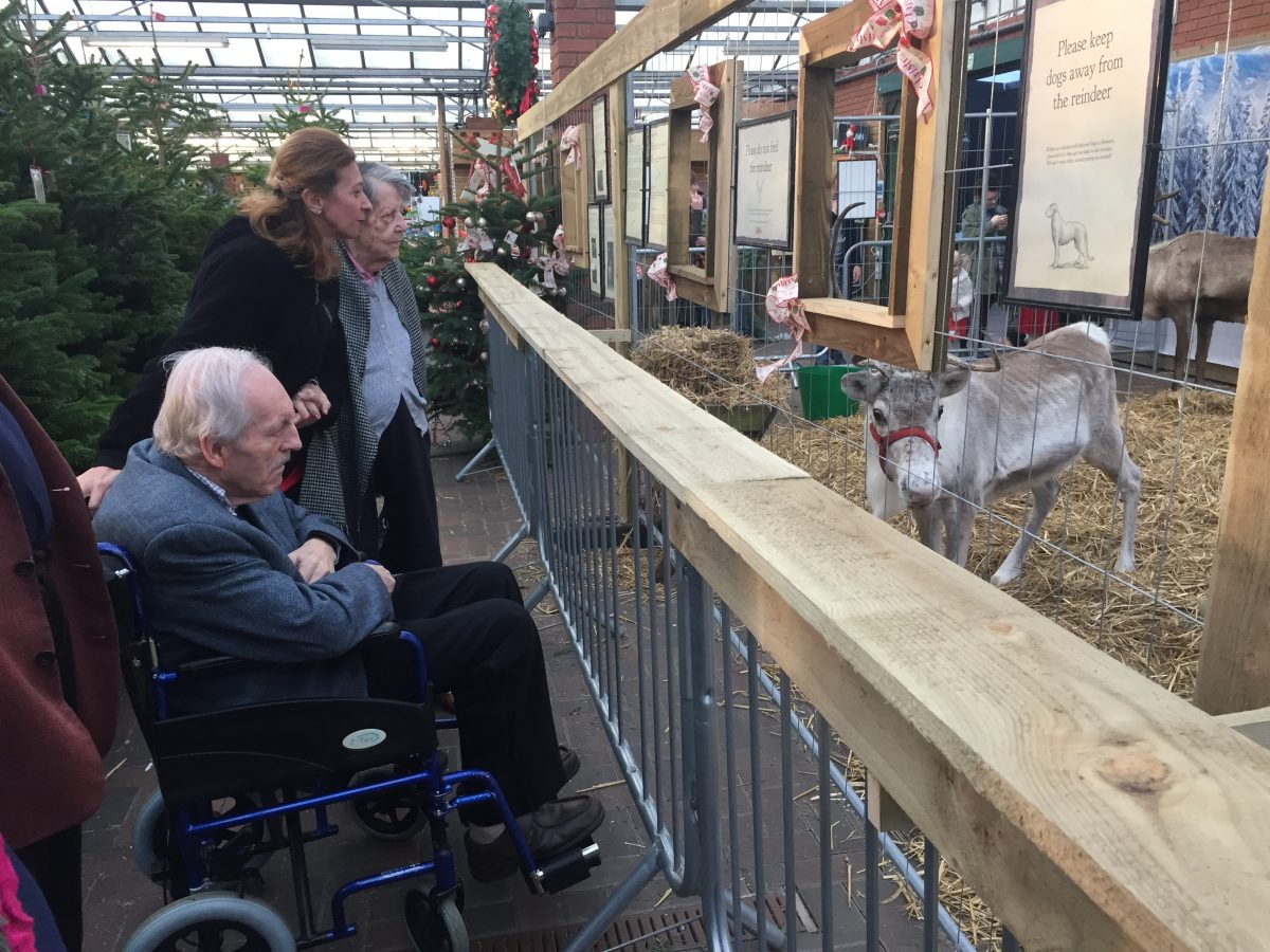 Trip to see Father Christmas and his Reindeer