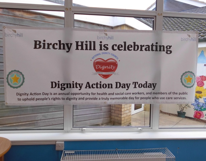 Dignity Action Day at Birchy Hill in 2017