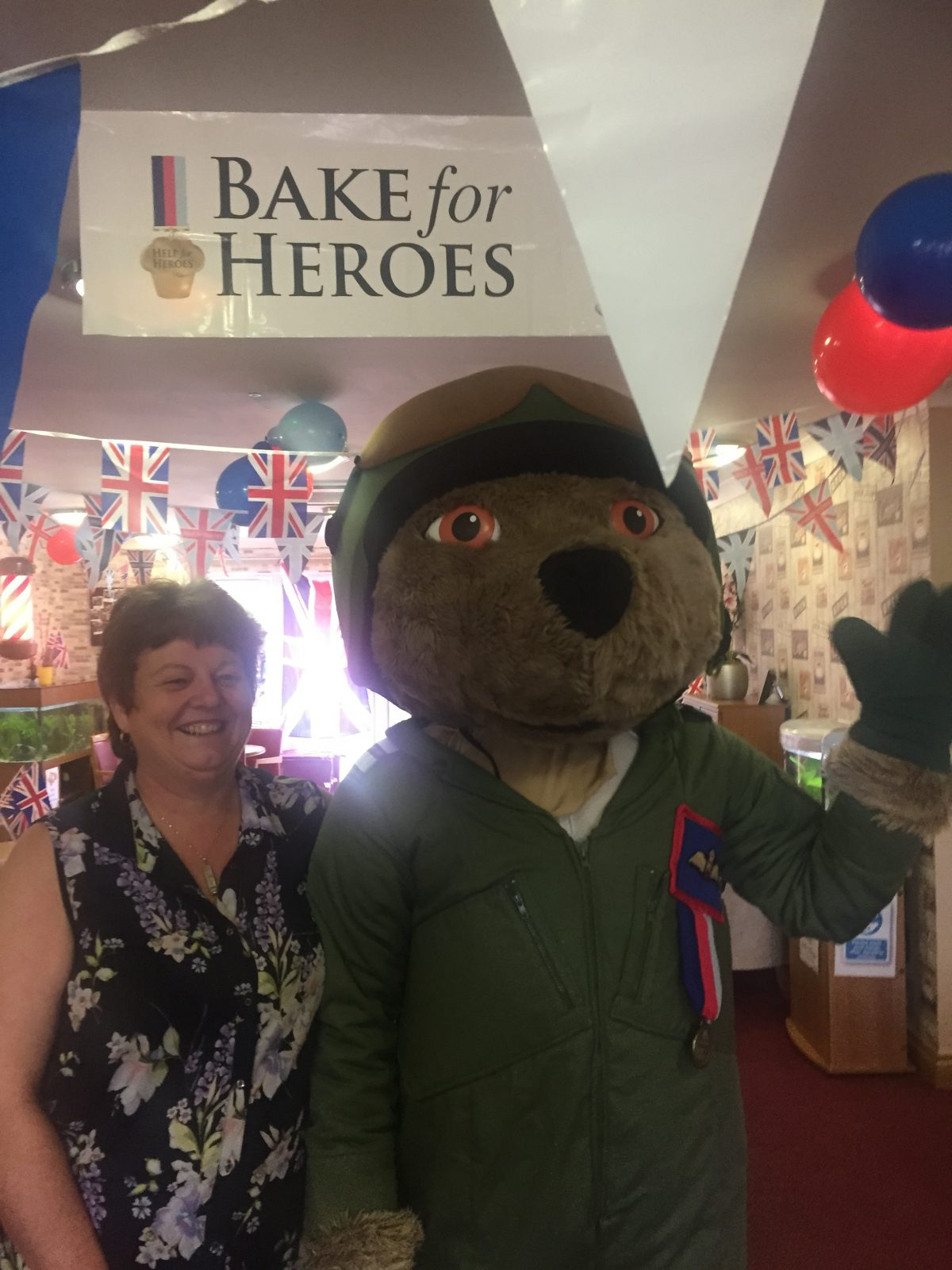 HELP THE HEROES AT ORCHID CARE HOME