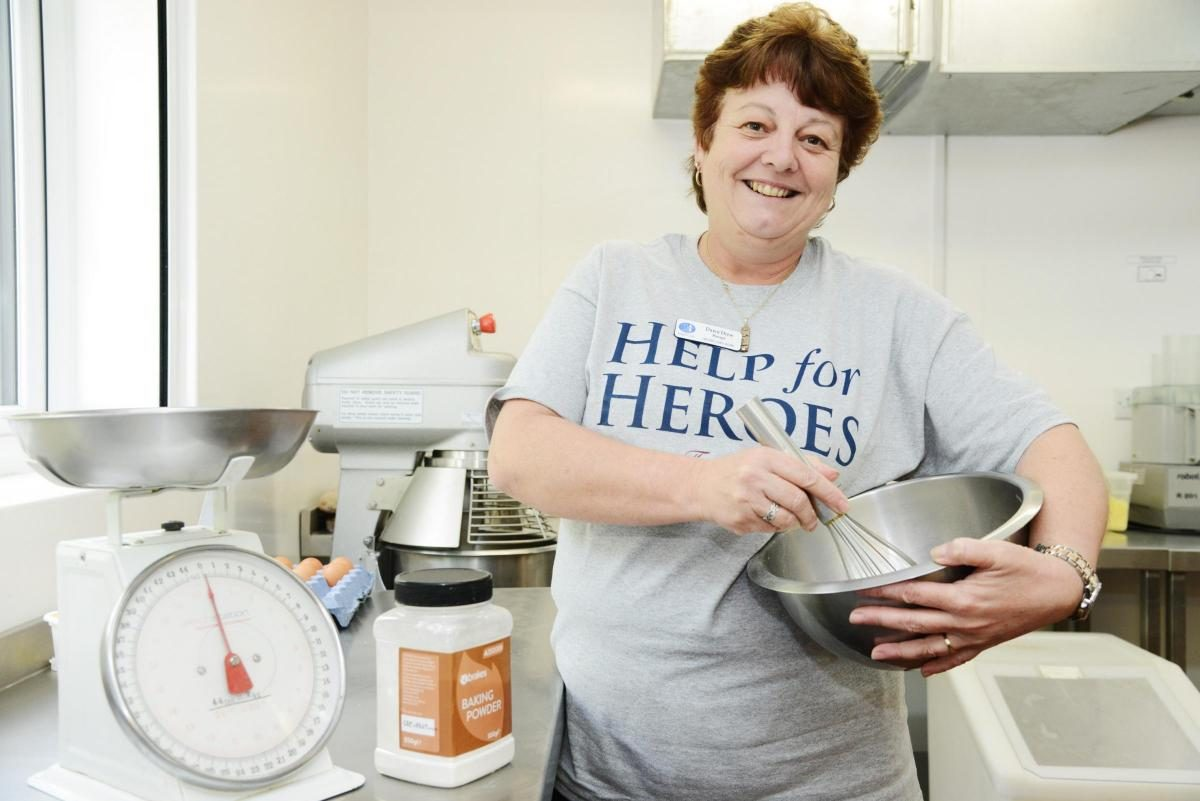 CARE HOME STAFF BACK BAKE FOR HEROES IN SWINDON