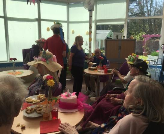 EASTER BONNET PARADE AT BIRCHY HILL