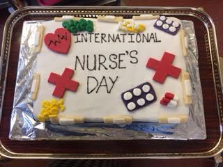 INTERNATIONAL NURSES DAY 2017 – CAKE