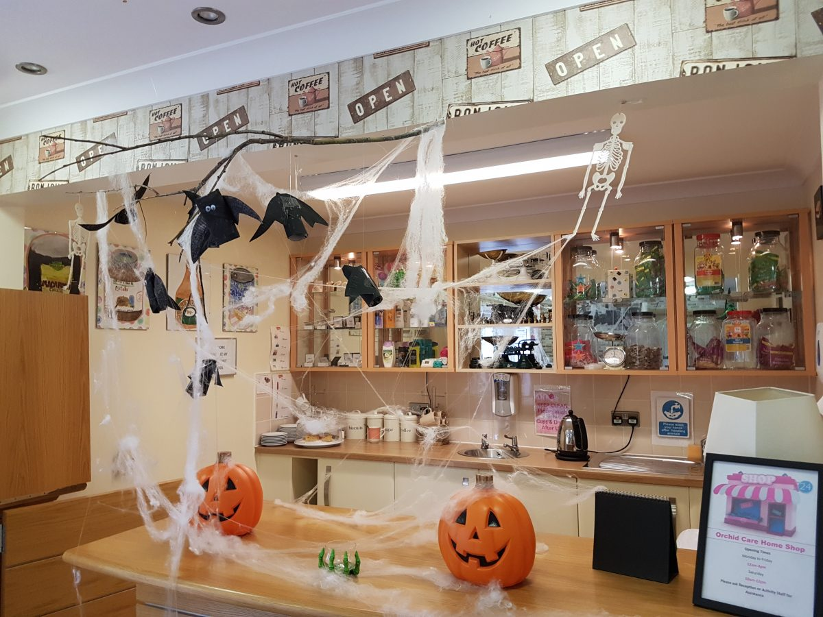 SPOOKY CAFE