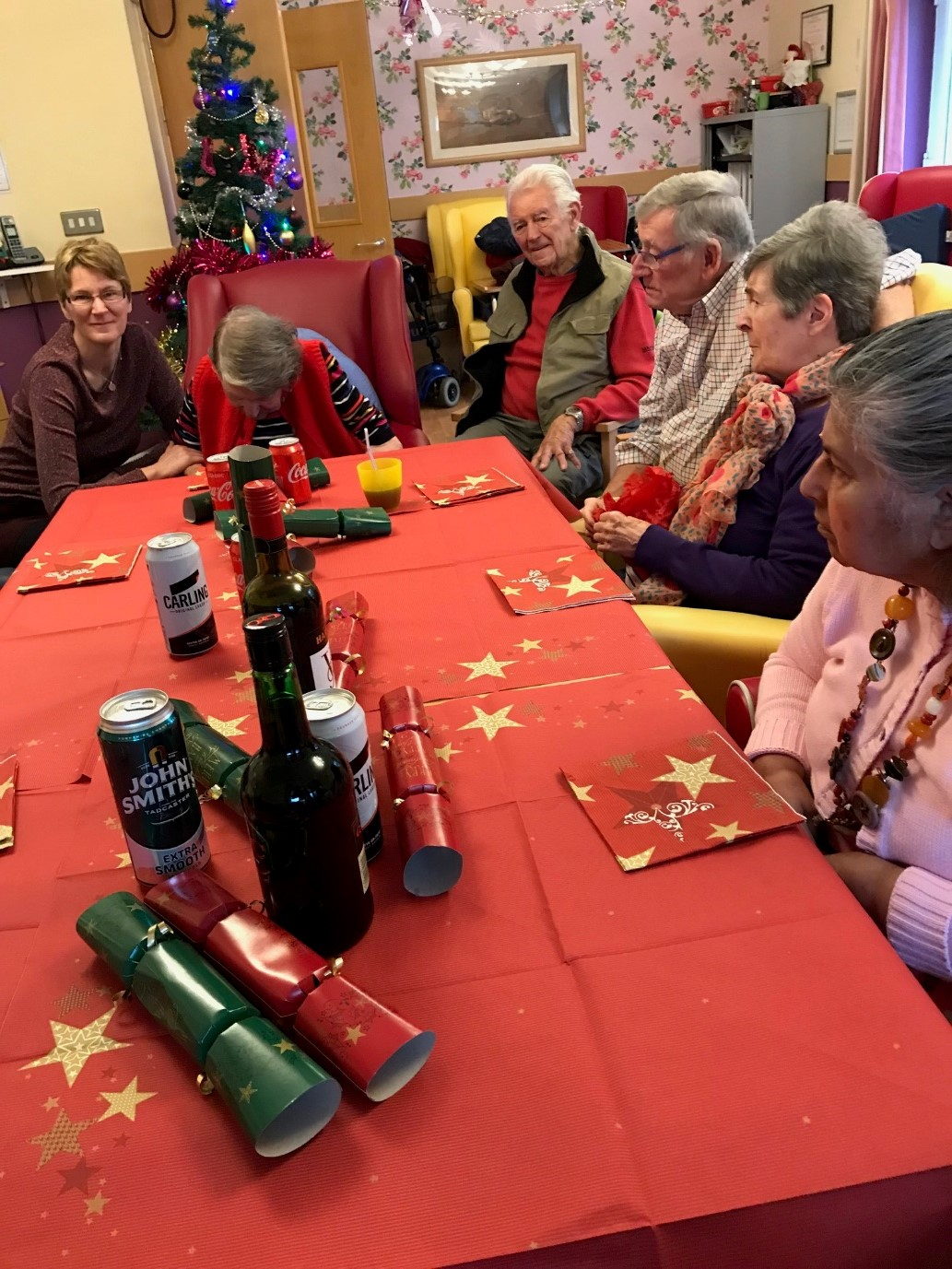 CHRISTMAS DAY IN UPPER CHERRY TREE COURT