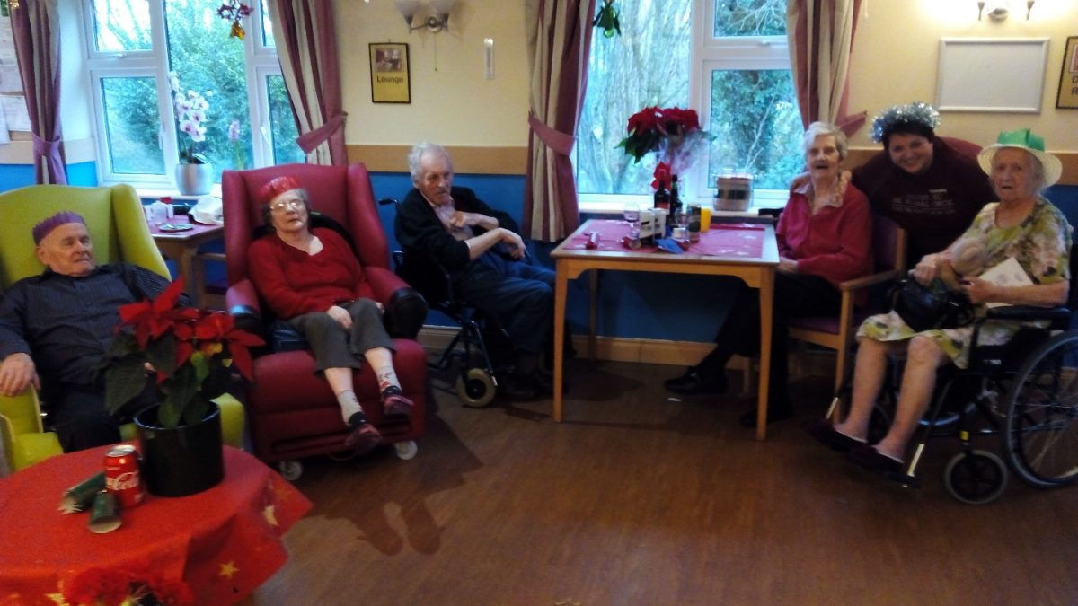 CHRISTMAS CELEBRATIONS IN LOWER CHERRY COURT