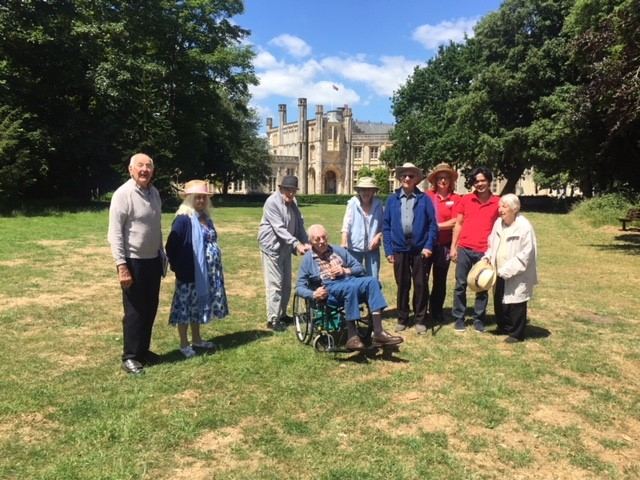 HIGHCLIFFE CASTLE – HERE WE COME………