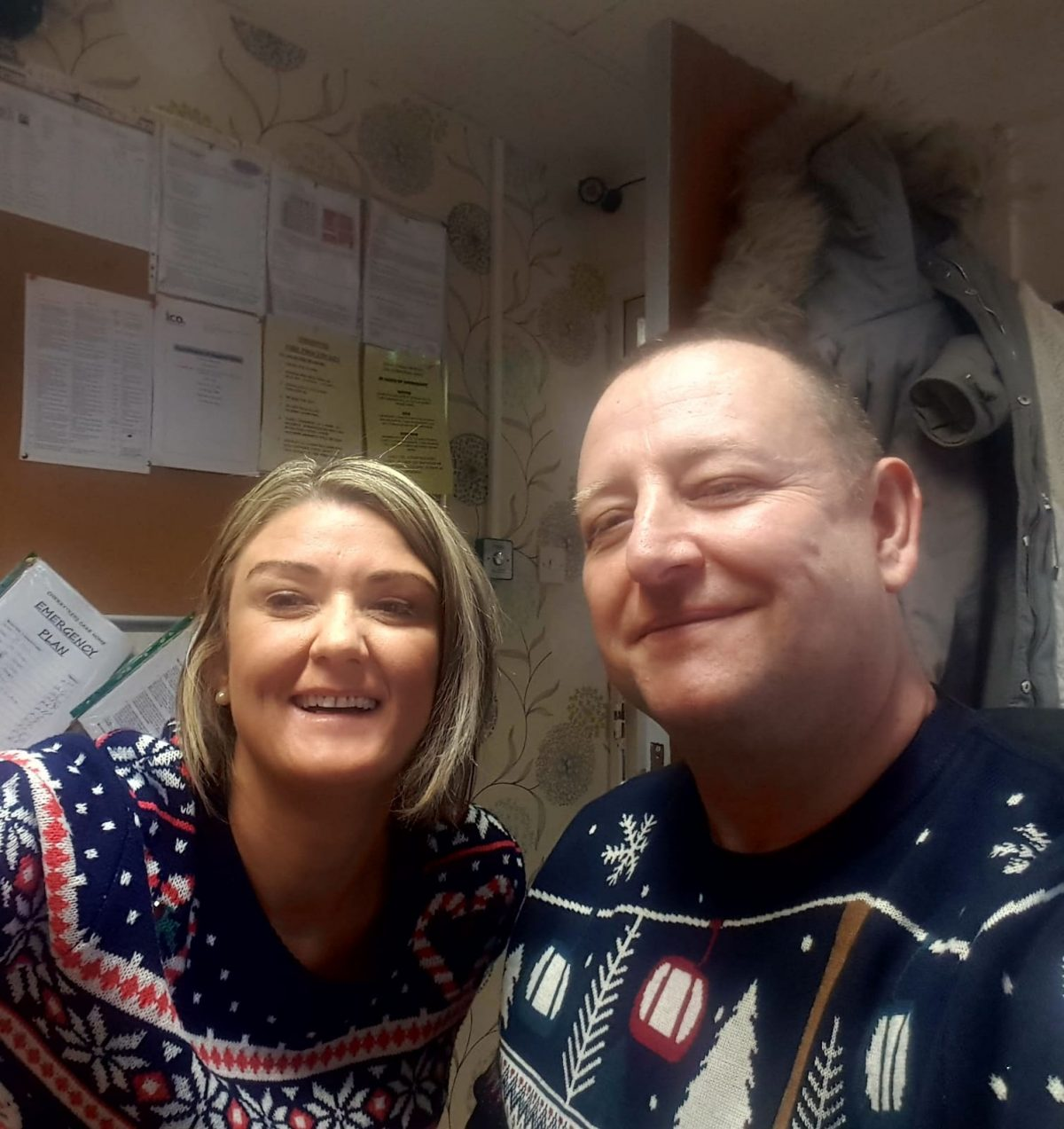 CHRISTMAS JUMPER DAY AT CHERRY TREES