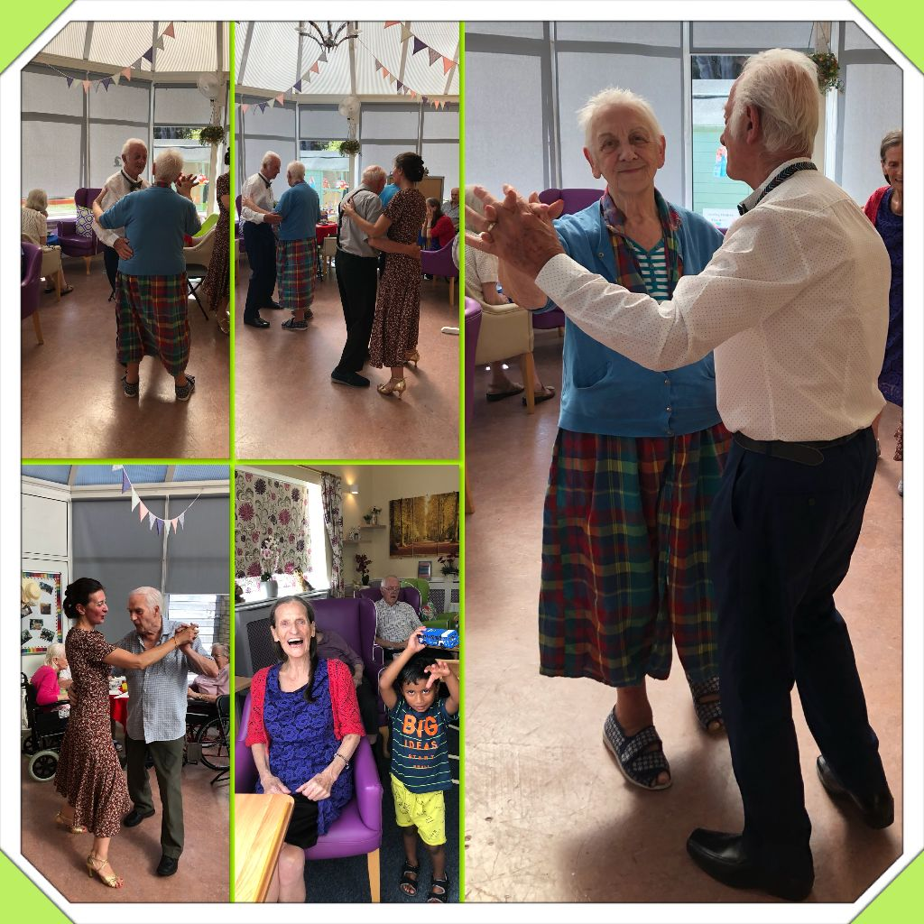 AN AFTERNOON OF BALLROOM DANCE