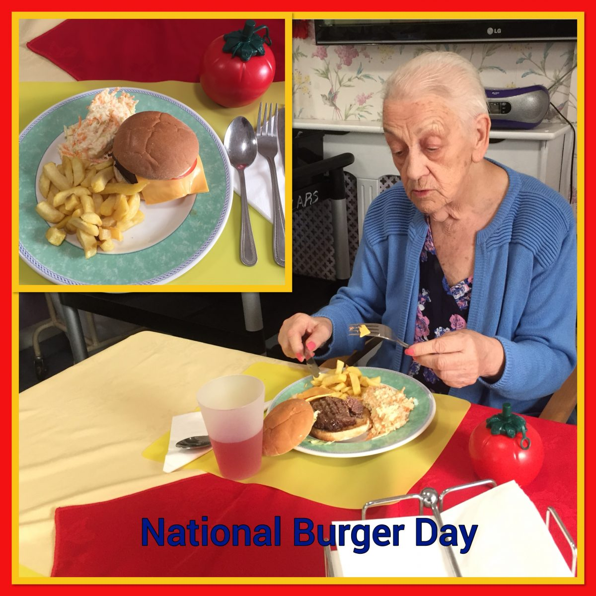 NATIONAL BURGER DAY..