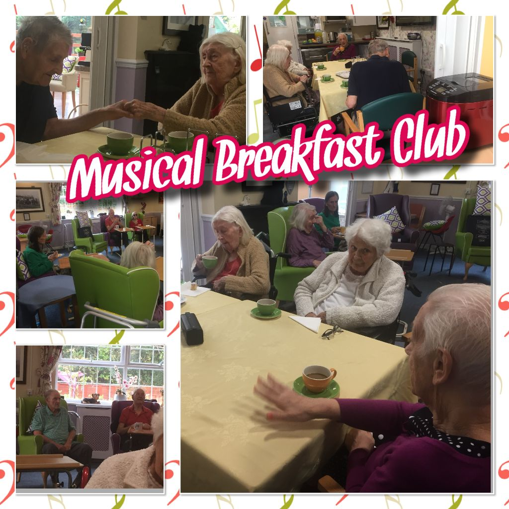 A VERY MUSICAL BREAKFAST CLUB ….